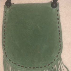 Lucky Brand Bags - Lucky brand - Greene suede shoulder bag
